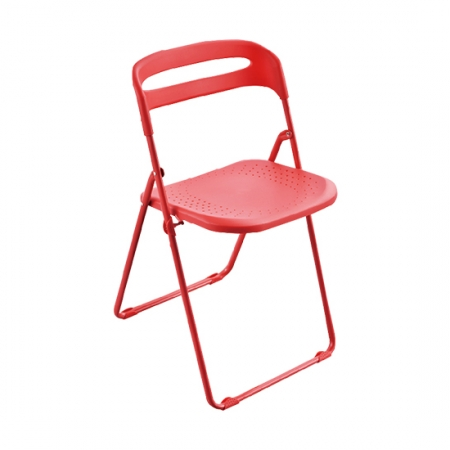 Red Plastic Folding Chair FC-E05