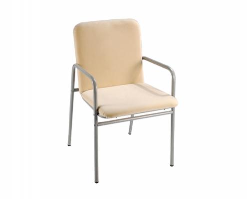 Armrest Metal Chair