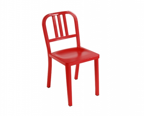 Metal Chairs with Back