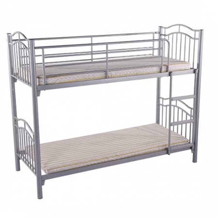 Metal Bunk Bed Dual Ladders