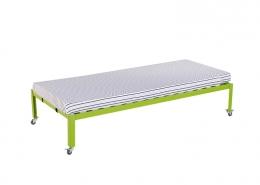 Wooden Slats Platform Bed