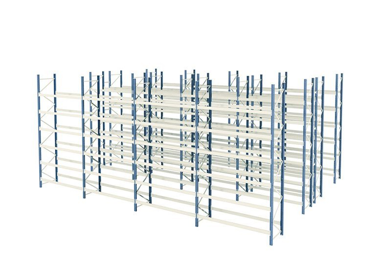 Commercial Industrial Warehouse Shelving