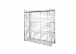 Plastic Coated Wire Shelves