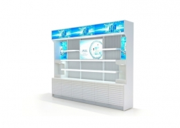 Led Advertising Display Supermarket Shelf