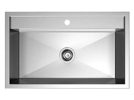 Stainless Steel Topmount Kitchen Sink Single Bowl SI-XS01