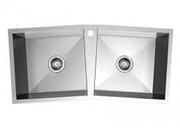 Double Basin Stainless Steel Topmount Kitchen Sink