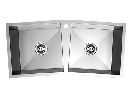 Double Basin Stainless Steel Topmount Kitchen Sink