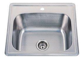 Single Bowl Drop in Stainless Steel Bar Sink