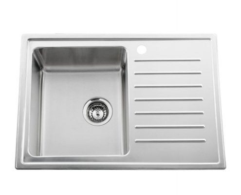 Single Bowl Kitchen Sink With Drainer