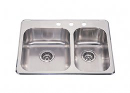 Stainless Steel 60/40 Double Bowl Kitchen Sink