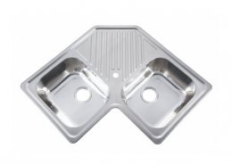 Undermount Double Bowl Kitchen Sink Drainer