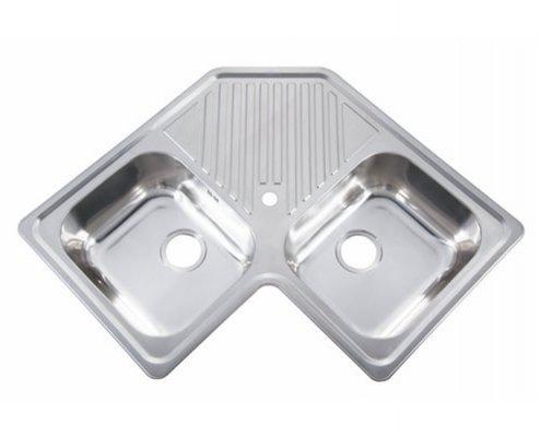 Undermount Double Bowl Kitchen Sink Drainer